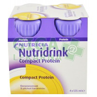 Nutridrink Compact Protein 4x125ml Banán
