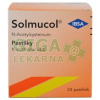 Solmucol pastilky 24x100mg