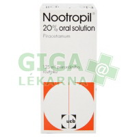 Nootropil 20% Oral Solution 125ml