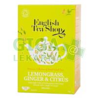 English Tea Shop Bio Citrónová Tráva Zázvor Citrus 20s.