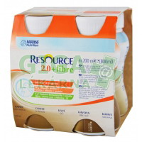 Resource 2.0kcal Fibre Kávový 4x200ml