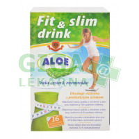 HERBEX FitLine Drink Aloe Vera 16x6g Vlákninový nápoj