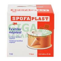 3M Spofaplast Náplast cívková textilní 132SB 2.5cmx5m