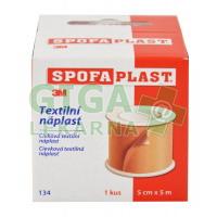 3M Spofaplast Náplast cívková textilní 134SB 5cmx5m