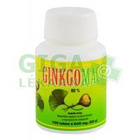 HEMANN Ginkgo maca bylinné tablety 600mg 100 tablet