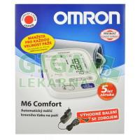 Tonometr dig.OMRON M6 Comfort-2 uživat.+ZDROJ(SET)