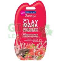 FREEMAN Pleťová maska detoxikační čokoláda jahoda 15ml