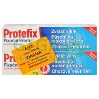 Protefix Fixační krém 2x47g + tablety zdarma