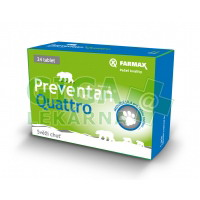 Preventan Quattro 24 tablet Farmax