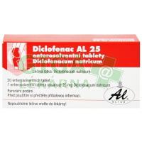 Diclofenac AL 25mg 20 tablet