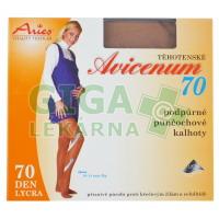 Avicenum70 punčocháče těhotenské L (170-176cm) tělové