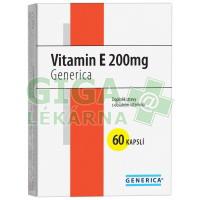 Vitamin E 200mg 60 kapslí Generica
