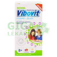 Vibovit SCHOOL 8+ let 30 cucavých tablet