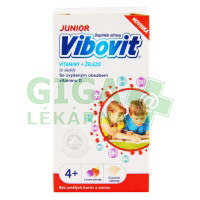 Vibovit JUNIOR 4-7let 30 cucavých tablet