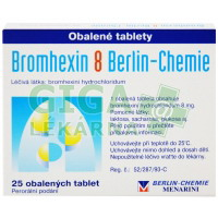 Bromhexin 8 - 25 tablet Berlin-Chemie