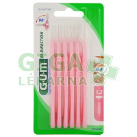 GUM mezizubní kartáček BI-DIRECTION růžový 1.2mm 6ks