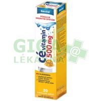 Revital Cé 500mg 20 šumivých tablet s příchutí citrónu a pomeranče