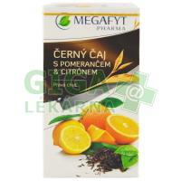 Megafyt Černý čaj s pomerančem a citrónem 20x2g