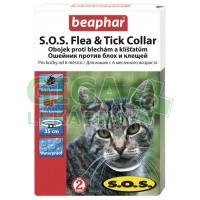 Beaphar Obojek pro kočky SOS adult 35cm