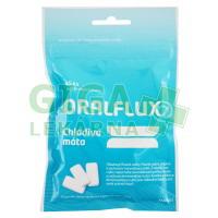 Oralflux žvýkačky chladivá máta 45ks