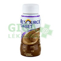 Resource Diabet Kávový 4x200ml