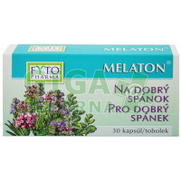 Melaton tobolky pro dobrý spánek 30 tobolek