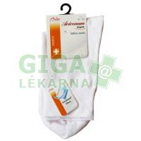 Avicenum DiaFit bavlněné ponožky 39-42 bílé