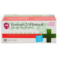Koenzym Q10 Natural 30 tablet Virde