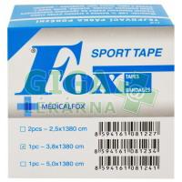 Tejpovací páska porézní 3,8cmx13,8cm