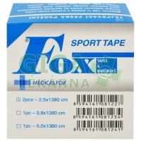 Tejpovací páska porézní 2,5cmx13,8m 2ks