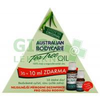 Tea Tree Oil Aust.Bodycare AKČNÍ SET30+10ml ZDARMA