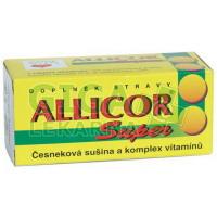 Allicor Super česnek+vitaminy 60 tablet Naturvita