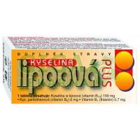 Kyselina lipoová Plus 60 tablet Naturvita