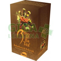 Čaj Biogena Tea Rebarbora-Rakytník 20x2.5g