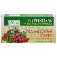Nephrosal+brusinky na močové cesty Fytopharma 30 kapslí