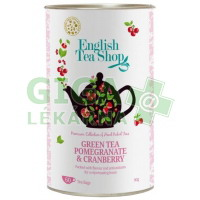 English Tea Shop Zelený čaj, Granát. jablko a Brusinka 60 sáčků