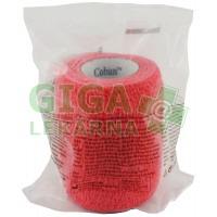 3M Coban elastické samofixační obinadlo 7.5cmx4.5m červené