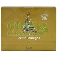 Lecitin + Omega3 Vánoční balení (2x100 tobolek) Silvita