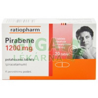 Pirabene 1200mg 20 tablet