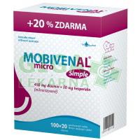 MOBIVENAL micro Simple 100+20 tablet zdarma