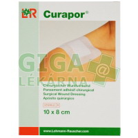 Obvaz na rány Curapor samolepící sterilní 10x8cm 5ks