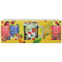 TEEKANNE 4x ovocný čaj WOF + hrneček s pokličkou