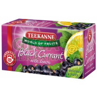 TEEKANNE WOF Black currant with lemon 20x2.5g(čer.ryb+citr)