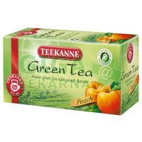 TEEKANNE Zelený čaj broskev 20x1,75g