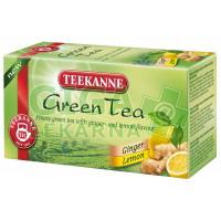 TEEKANNE Zelený čaj se zázvorem a citronem 20x1.75g