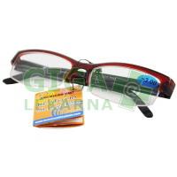 Brýle čtecí American Way v etui +3.00 bordové