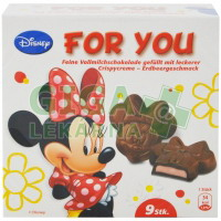 Micky Mouse plněná čokoláda 54g