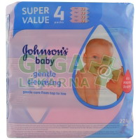Johnson´s Baby wipes Gentle Cleansing 224ks