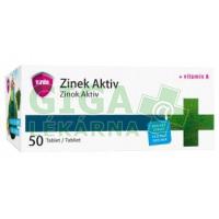 Zinek Aktiv 50 tablet Virde