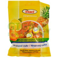 Intact Demosana bonb.z hrozn.cukru-10vitaminů 75g